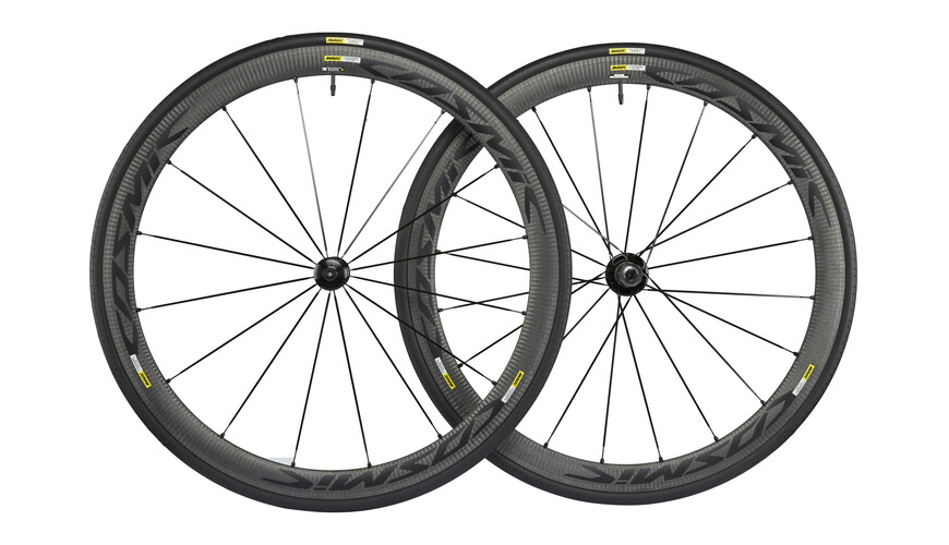 Mavic Cosmic Carbone 40 Elite LRS 23 Shimano M10 black